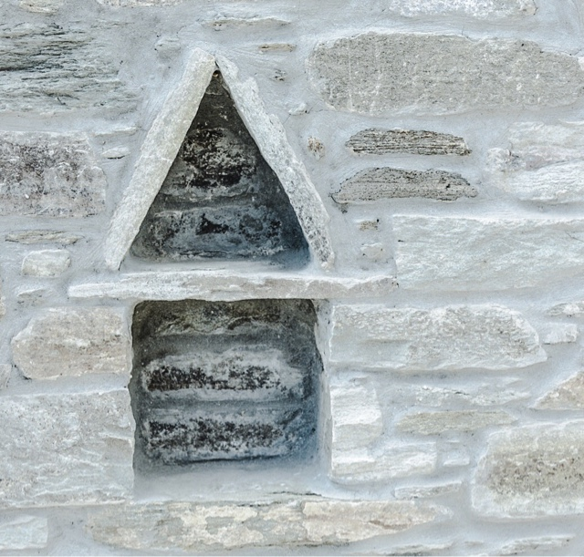 stone wall shapes - Tinos island