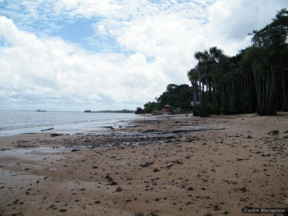 Praia de Caruará - Ilha do Mosqueiro, Belém do Parà, fonte: Carlos Macapuna