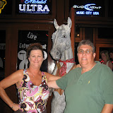 Mary and Gary Mascelli outside the Wildhorse Saloon in Nashville TN 09032011b