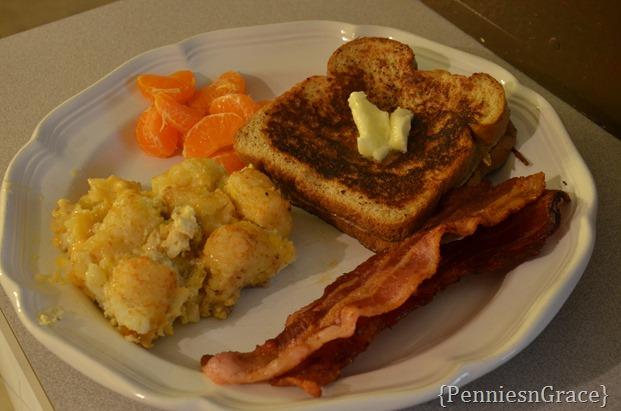Breakfast dinner