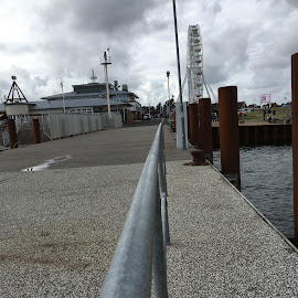 List-Hafen, Sylt by Marianne Fischer - City,  Street & Park  Vistas