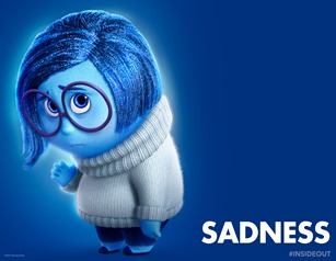 Inside Out Sadness poster