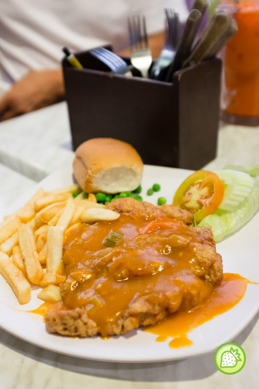 Hainanese chicken chop james foo western food malaysia food hainanese chicken chop rm 950 james foo western food forumfinder Images