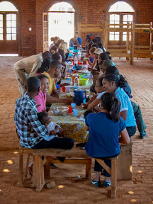 A gathering of YWAM leaders at one of the bases outside Tana.  It was a great time being with them and we love how YWAM likes to keep things pretty simple and low-key… and especially that most of our co-workers are Malagasy!