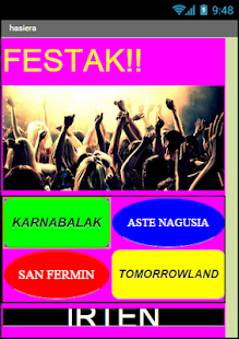 FESTA FESTA - screenshot