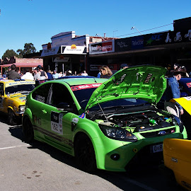 Targa High Country Rally by Sarah Harding - Novices Only Sports ( car, racing, outdoors, novices only, sport )