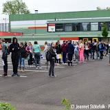 Tweede dag Eurowater bij Dollard College - Foto's Jeannet Stotefalk