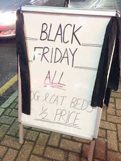 Black Friday sign