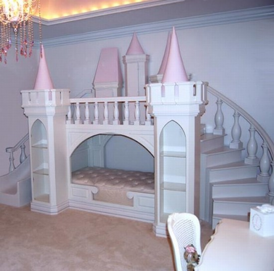 17 märchenhafte schlafzimmer ideen für kleine prinzessinen - Gestalten Rosa Kinderzimmer Kleine Prinzessin