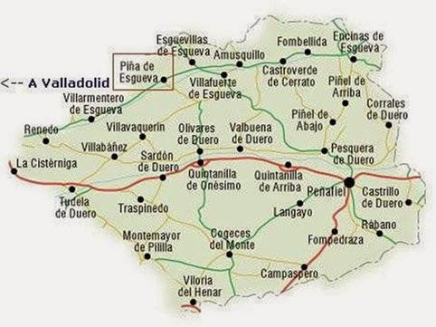 Valle del Esgueva, Valladolid