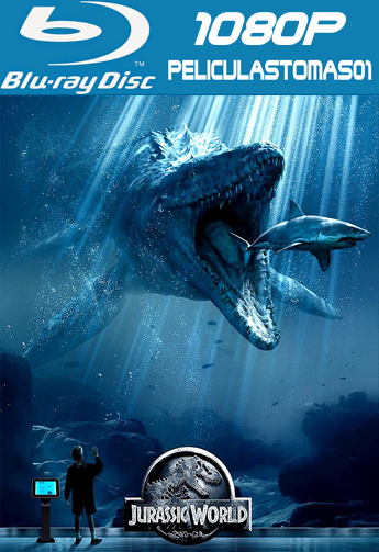 Mundo Jurásico (Jurassic World) (2015) [BRRip 1080p/Dual Latino-ingles]