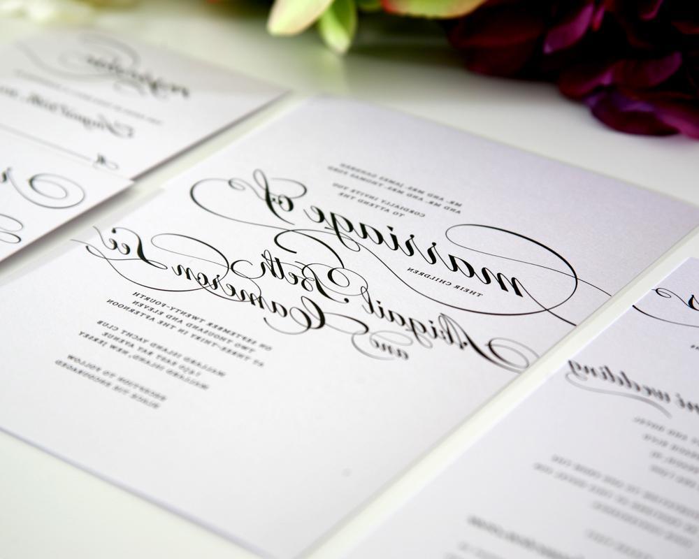 Marriage Wedding Invitations