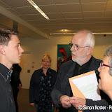 20-jarige Bryan Többen krijgt oorkonde van verdienste - Foto's Simon Koster