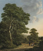 Artist:Adrianus Serne (Dutch, 1773–1853)Title:Travellers resting in a wooded landscape , 1818Medium:oil on canvasSize:53.5 x 45 cm. (21.1 x 17.7 in.)