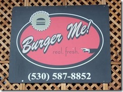 Burger Me, Truckee California