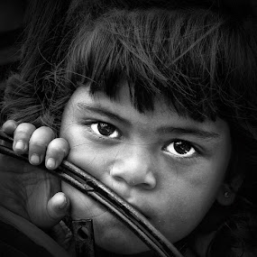 Gaze Of Hope by Aditya Nugraha - Babies & Children Children Candids ( gaze, children )