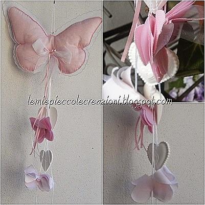 fiocco farfalla singola