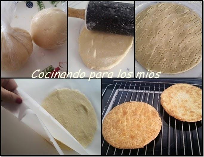 elaboracion tarta milhojas de crema y toffee1