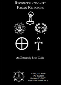 Cover of The Troth's Book Reconstructionist Paganism An Extremely Brief Guide