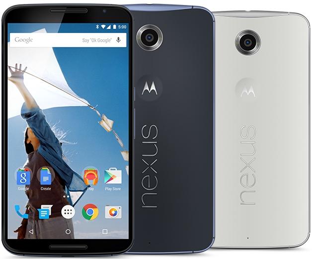 Motorola Nexus 6 - Spesifikasi Lengkap