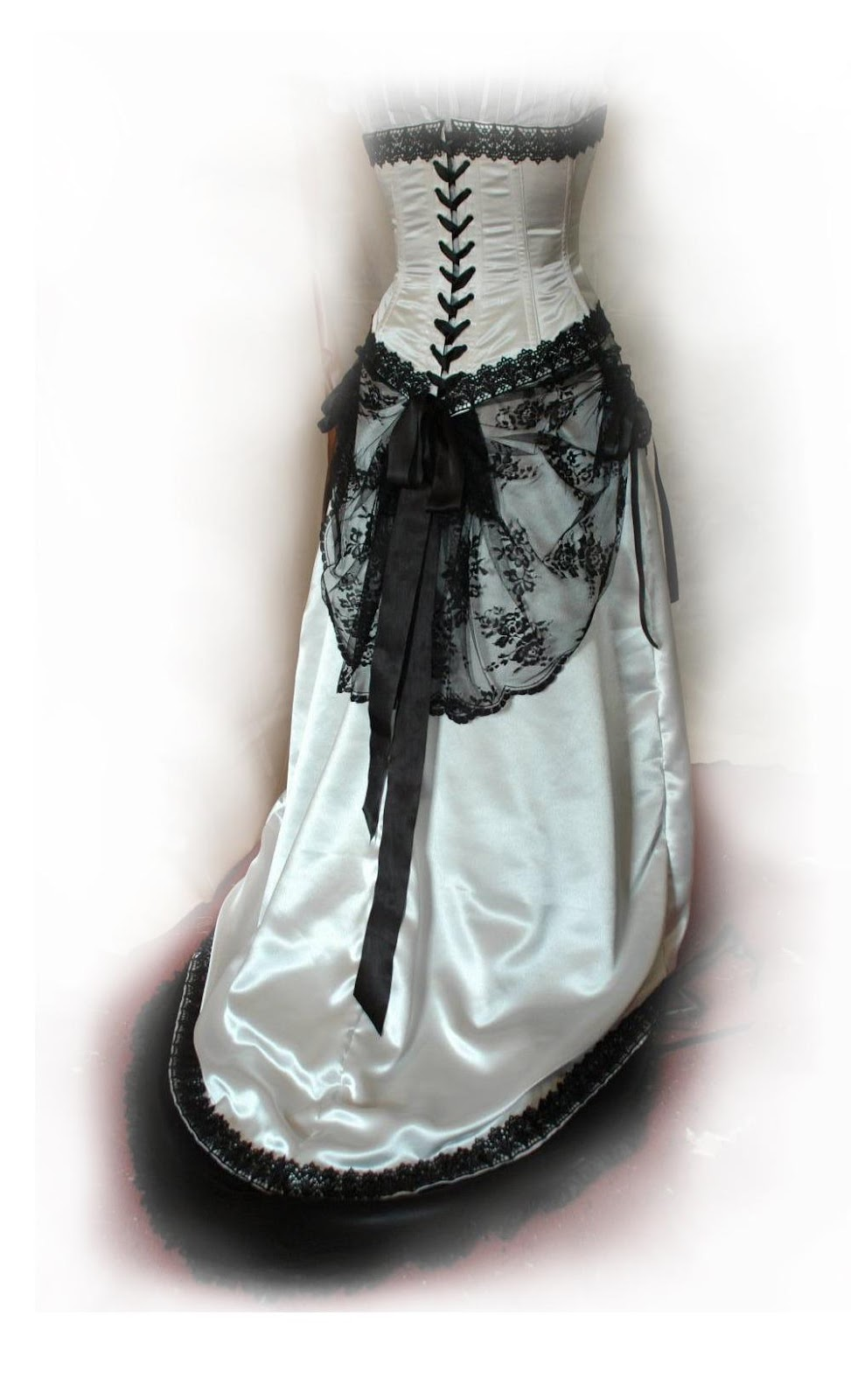 Black and ivory victorian