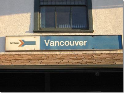 IMG_5152 Amtrak Station in Vancouver, Washington on January 17, 2009