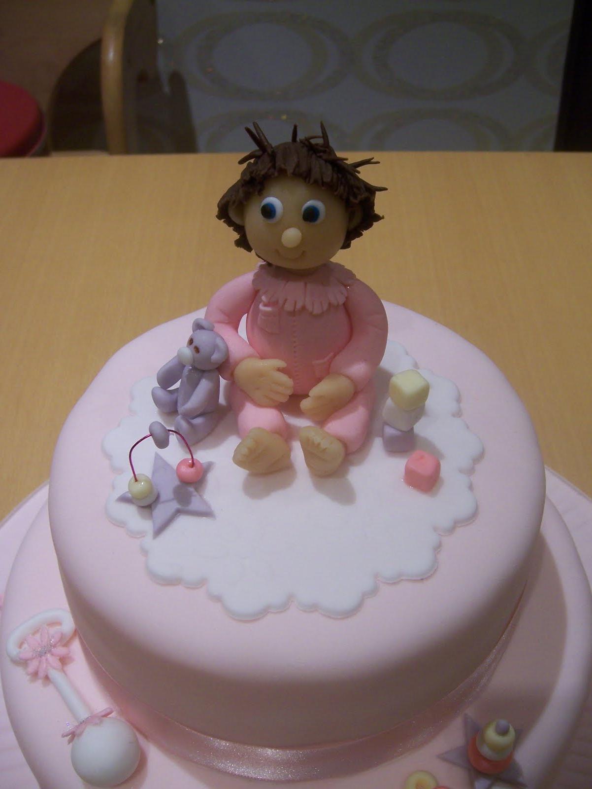 detailed baby girl christening