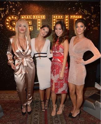 Rita Ora, Emily Ratajkowski, Jamie Chung, Jessica Szohr at Svedka Vodka Bash