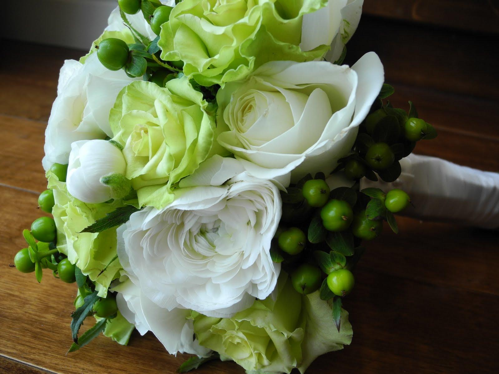 Chebrias blog elegant green wedding bouquet green wedding bouquets the brides bouquet cream mightylinksfo