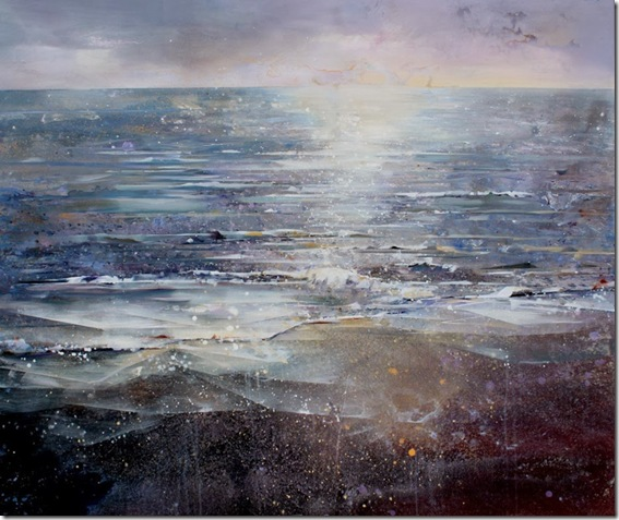 Calm Sea-Lorna-Holdcroft-ENKAUSTIKOS