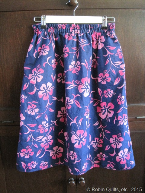 BluePink Skirt