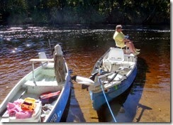 Break time on the Withlacoochee