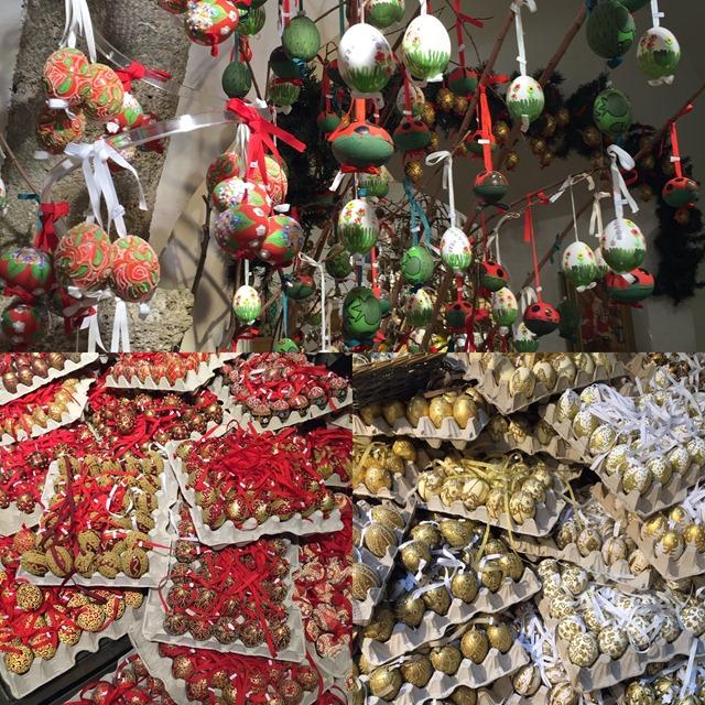 Salzburg Egg Ornaments