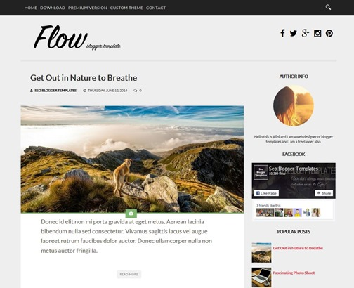 flow-responsive-template