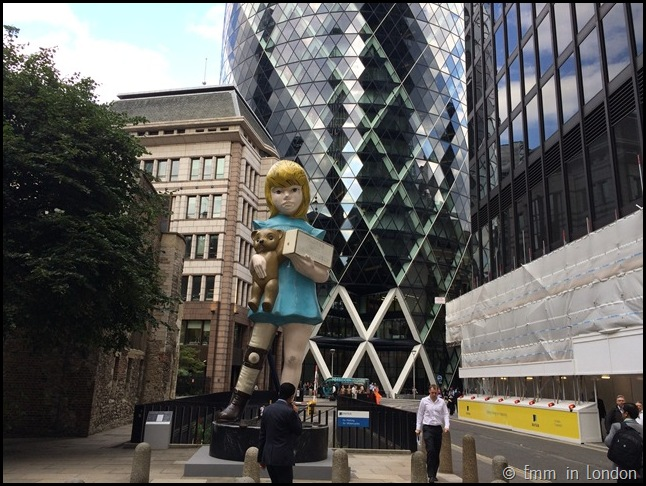 Damien Hirst Charity St Mary Axe