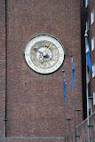 De astronomische klok van het stadhuis van Oslo