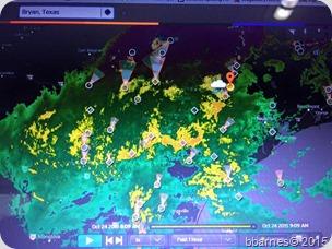 Rain radar 10232015