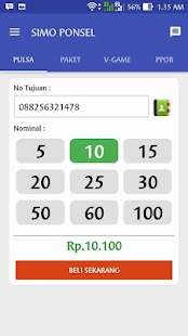 App SIMO PONSEL - ISI PULSA & PPOB APK for Windows Phone