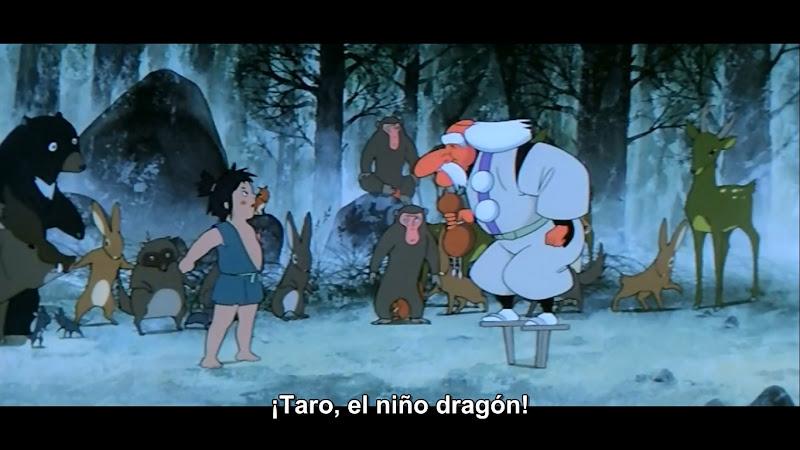 Taro el Niño Dragon (1979) 720p Dual (Jap-Lat)
