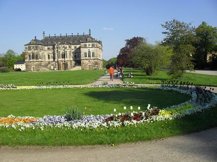Drážďany - Velká zahrada