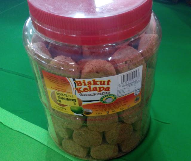 biskut kelapa shahrinie