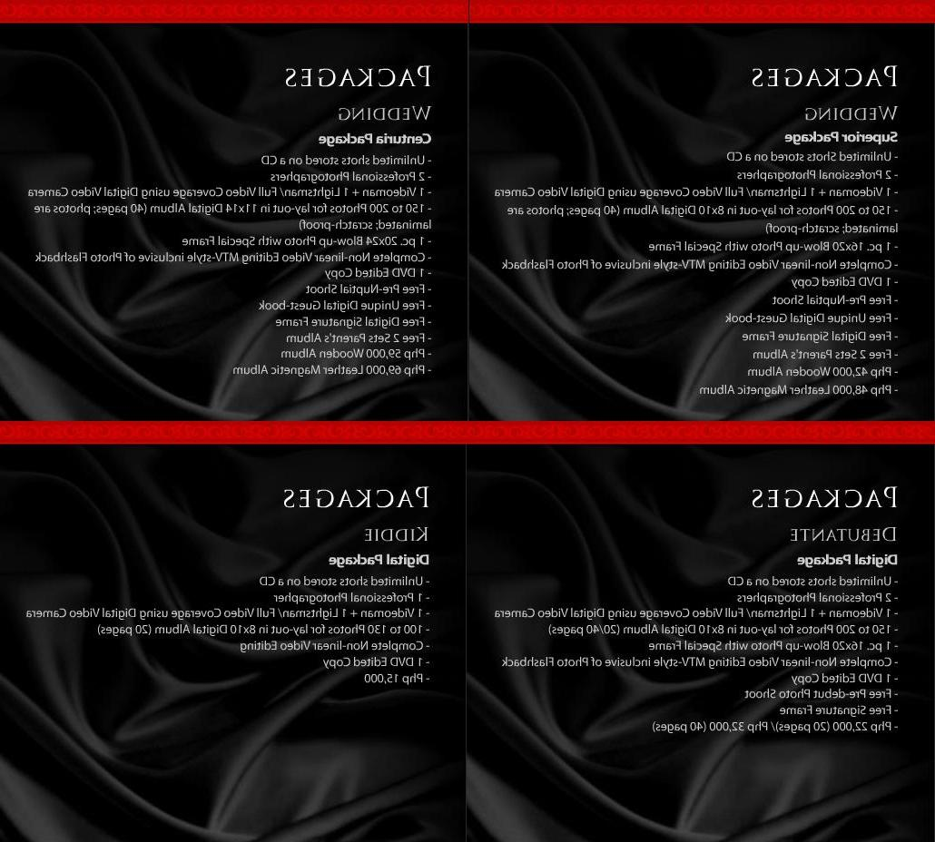 photography packages, wedding