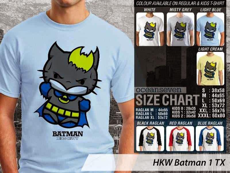 Kaos kartun lucu Batman 1 distro ocean seven