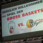 Knappe 79 : 77 Auswärtsniederlage bei den Brose Bamberg...