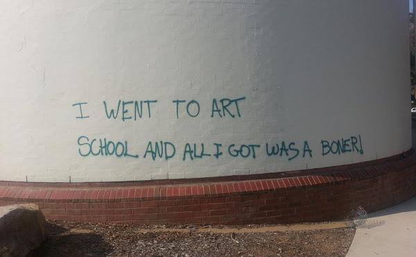 art school boner