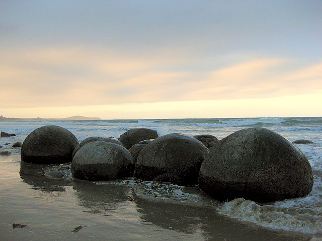 The Moeraki Boulders, South Island