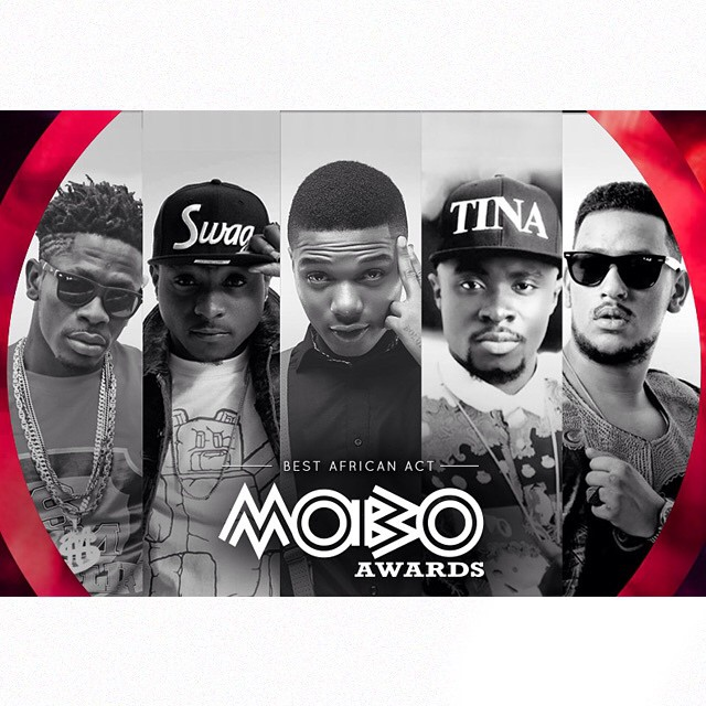 Davido, Aka, Wizkid, Fuse ODG And Shatta Walle Nominated For MOBO Best African Act