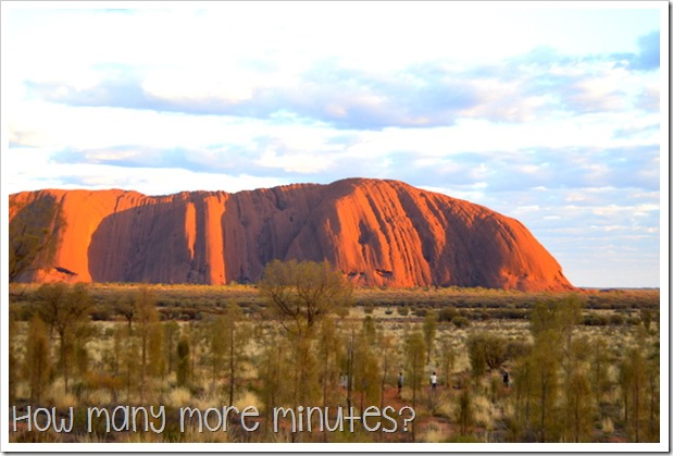 An Uluru Sunrise | How Many More Minutes?
