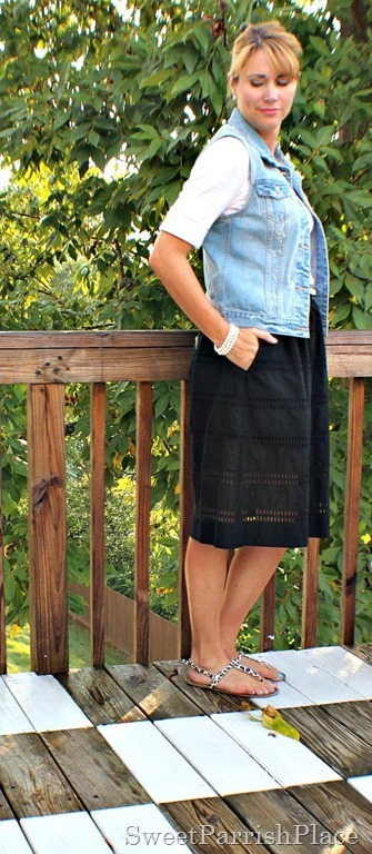 Denim Vest - 8 Ways