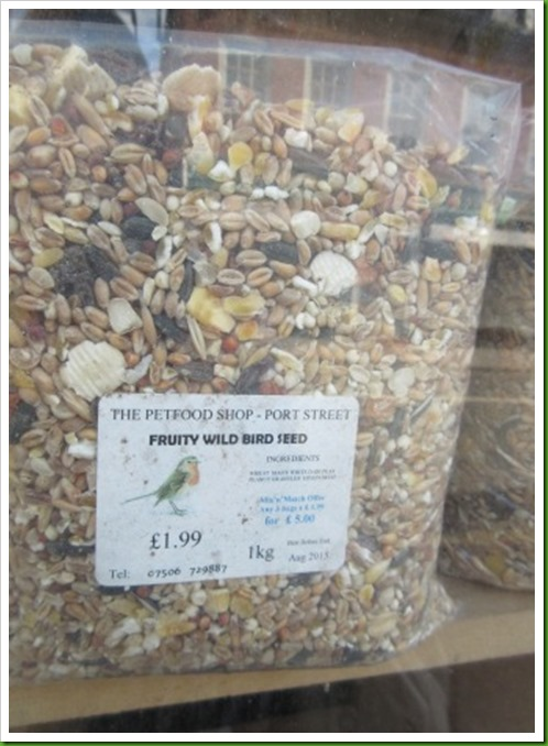 fruity wild bird seed